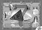 graphics - Large format painting - Seven Wonders of the World