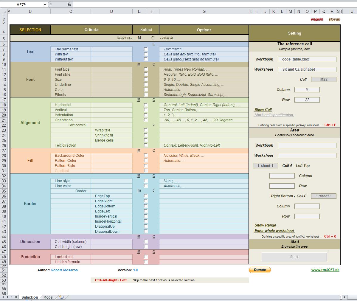 ... Find Hidden Objects. on excel vba worksheet selection change event