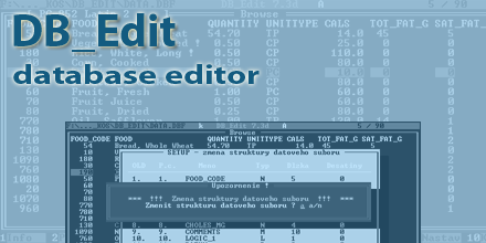 DB_Edit - Database Editor