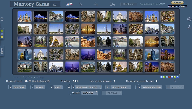 rmsoft memory game card game online. Black Bedroom Furniture Sets. Home Design Ideas